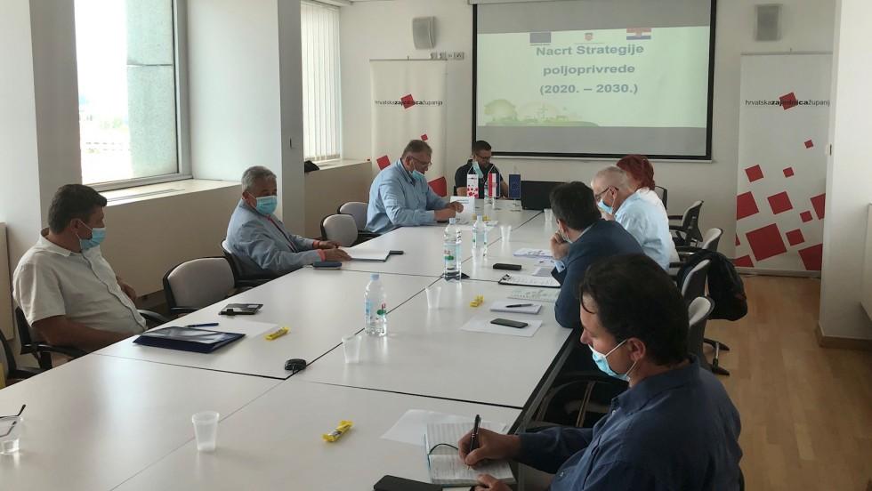 Radna skupina za poljoprivredu: Predstavljeni strateški ciljevi razvoja poljoprivrede