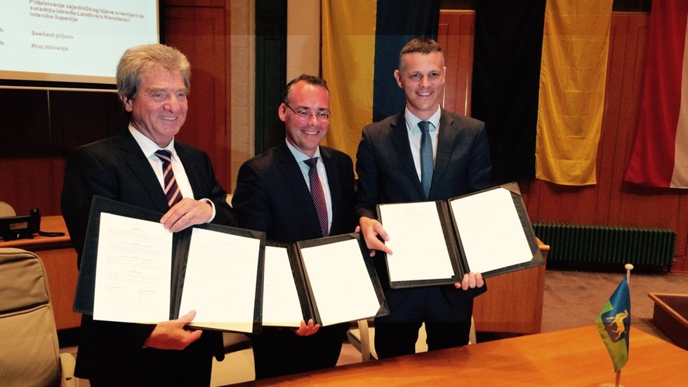 Potpisan Sporazum o suradnji Istarske županije i okruga Konstanz