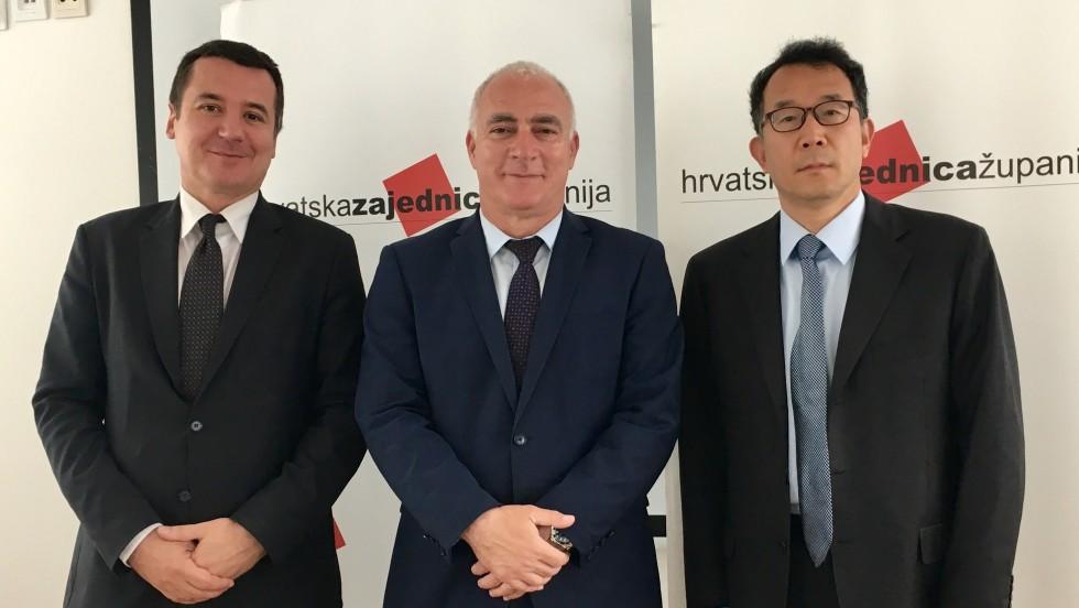 Sastanak s predstavncima Veleposlanstva Narodne Republike Kine u Republici Hrvatskoj