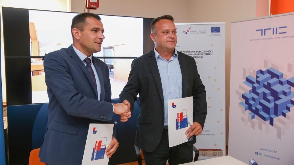 Potpisan ugovor za rekonstrukcijuTehnološko-inovacijskog centra Međimurje