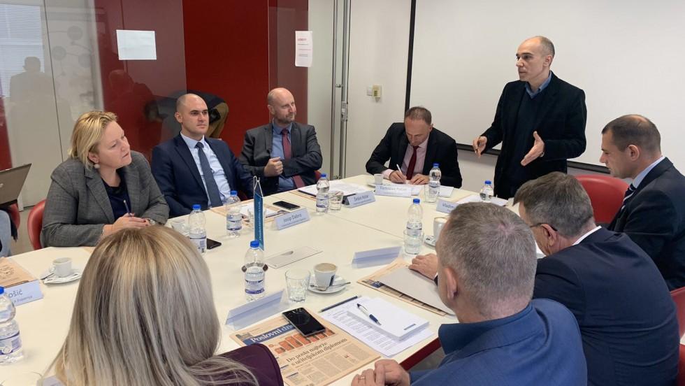 Okrugli stol o povjeravanju poslova ureda državne uprave županijama