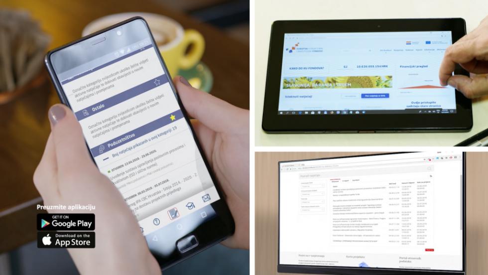 Aplikacijom do informacija o EU fondovima