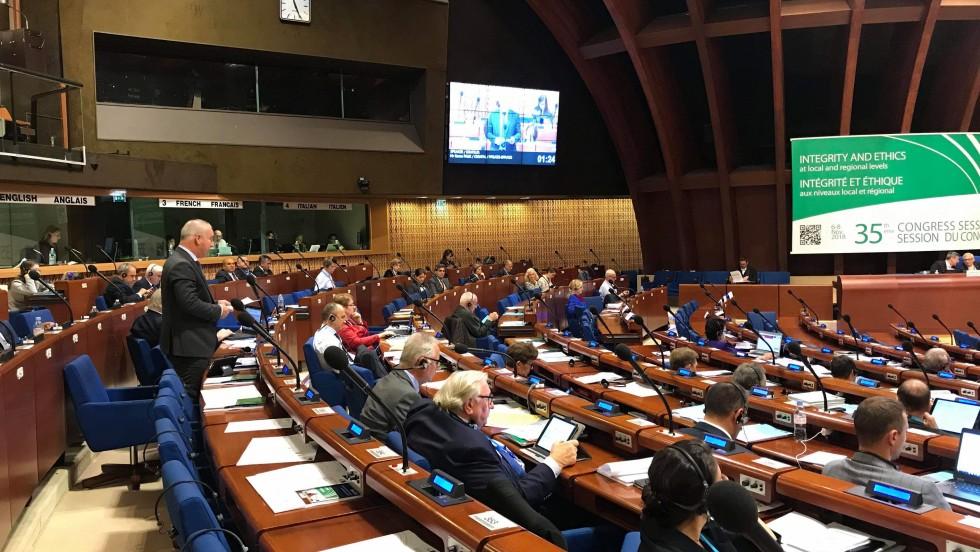 """Goran Pauk u Strasbourgu: """"Sudjelovanjem u proračunskim procesima građani imaju mogućnost kreiranja lokalne zajednice kakvu sami žele"""""""