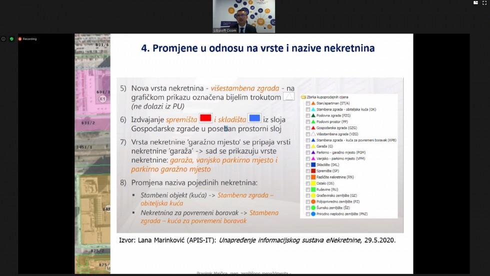 Održan webinar o procjeni vrijednosti nekretnina i naknada za izvlaštenja za županije