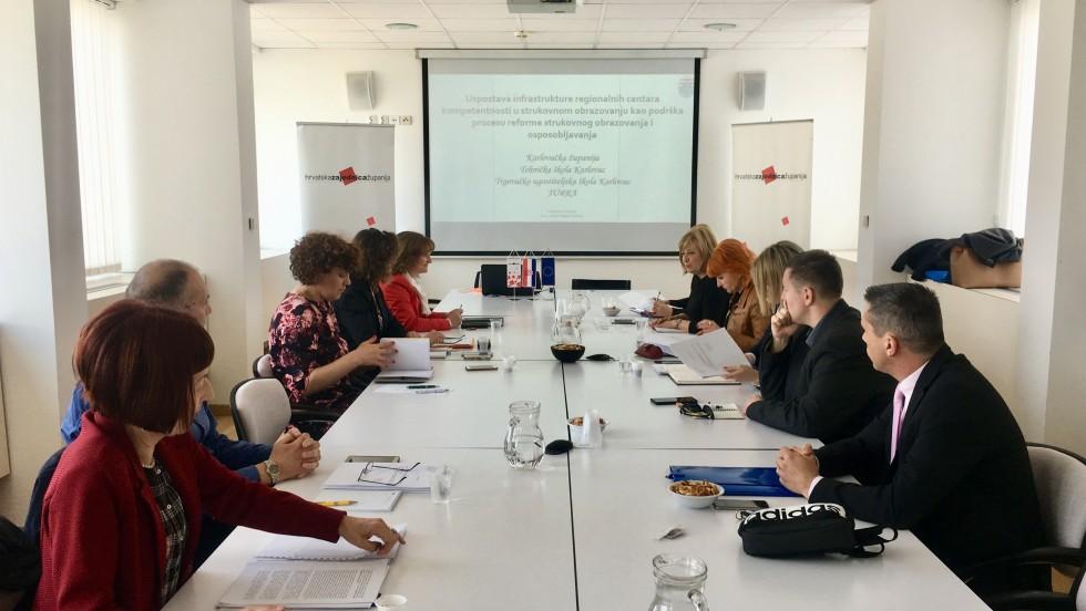 Regionalni centri kompetentnosti kao potpora reformi strukovnog obrazovanja