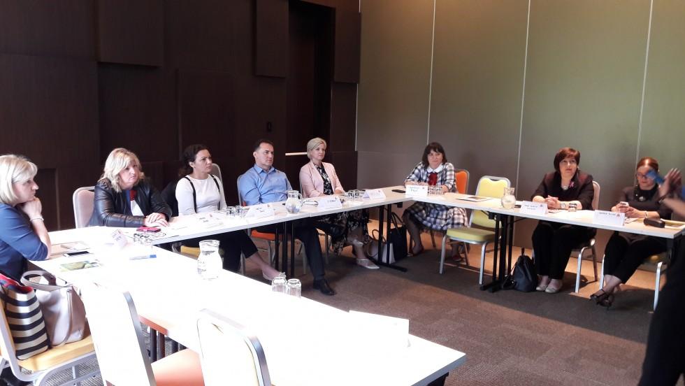Edukacija za žene aktivne u politici i voditelje radnih skupina u Tuhelju