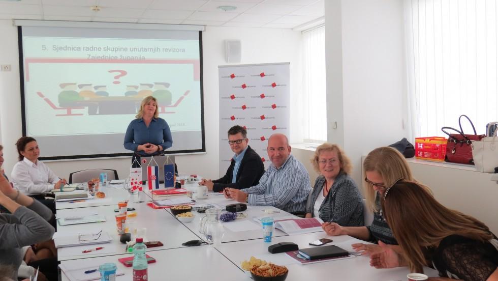 U Zagrebu održana sjednica Radne skupine za unutarnju reviziju