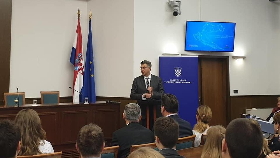 Održana  Godišnja konferencija Savjeta mladih Republike Hrvatske