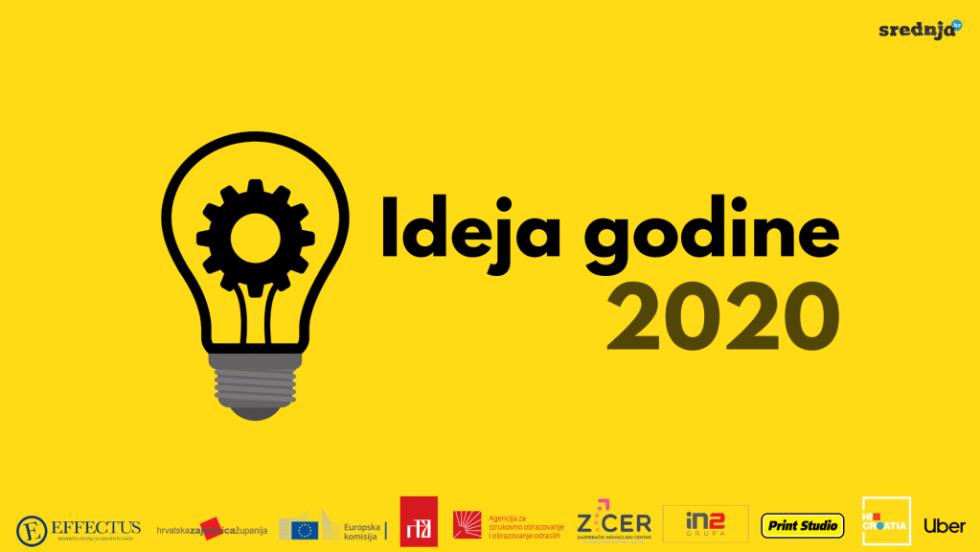 Pobjednici srednjoškolskog natjecanja Ideja godine 2020. godine