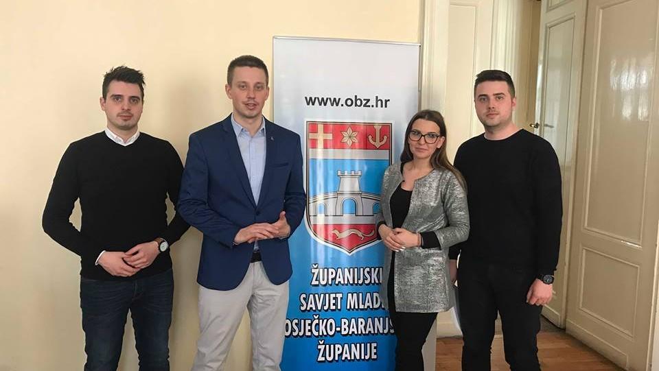 Obuka članova Savjeta mladih u Osječko-baranjskoj županiji