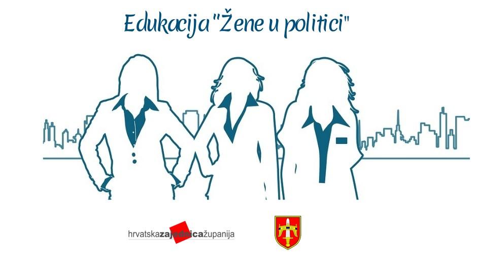 """Najava edukacije """"Žene u politici"""""""