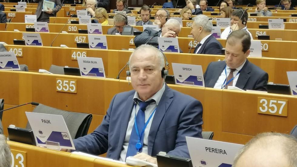 Hrvatska delegacija na 137. plenarnom zasjedanju Europskog odbora regija