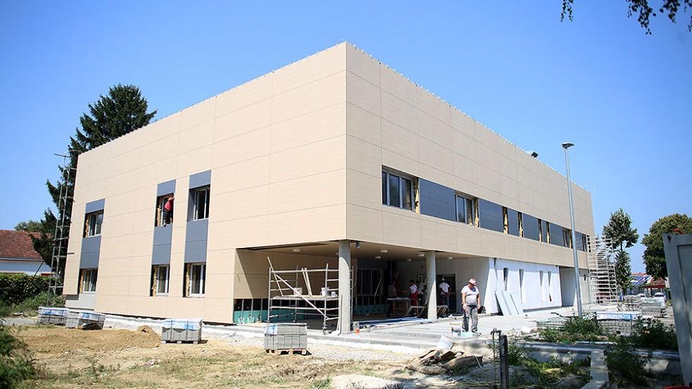 Gradnja Tehnološko-inovacijskog centra, jednog od najznačajnijih projekata Virovitičko-podravske županije, privodi se kraju