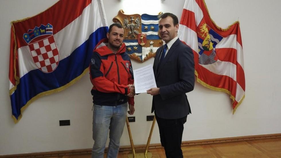 Varaždinska županija dodijelila 20.000 kuna Stanici gorske službe spašavanja Varaždin