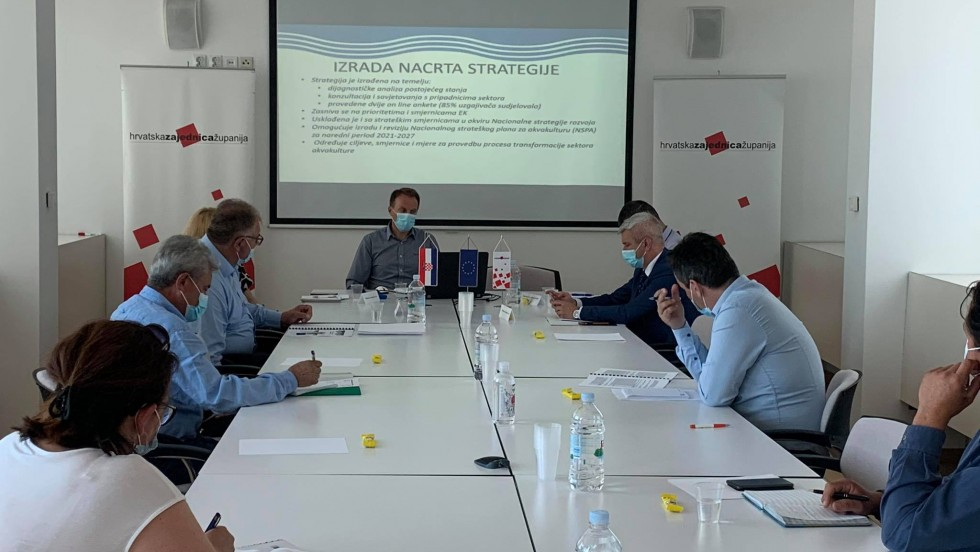 Sjednica Radne skupine za poljoprivredu i ruralni razvoj: Predstavljeni Nacrt strategije razvoja akvakulture za 2020.-2030. i Europski zeleni plan