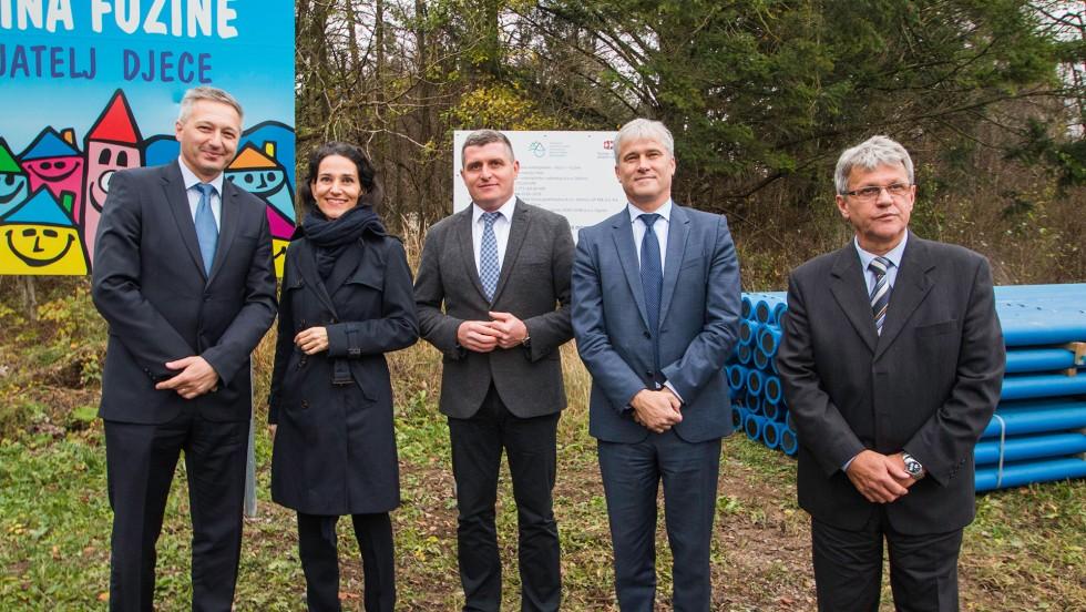 Goranima 21,5 milijuna franaka za projekte vodoopskrbe i odvodnje