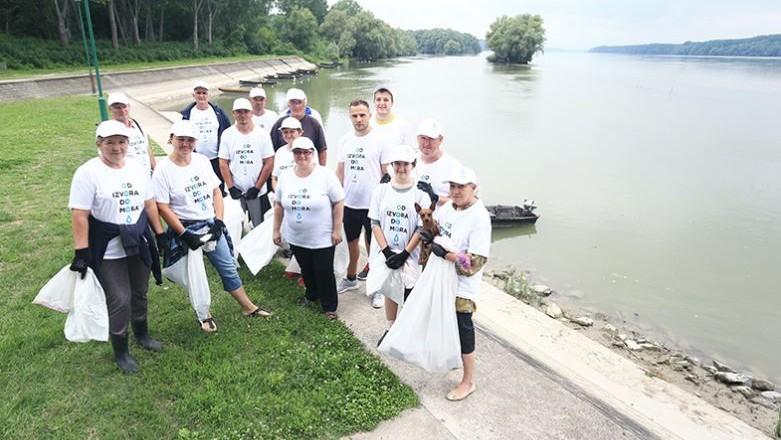 Iločani očistili obalu Dunava