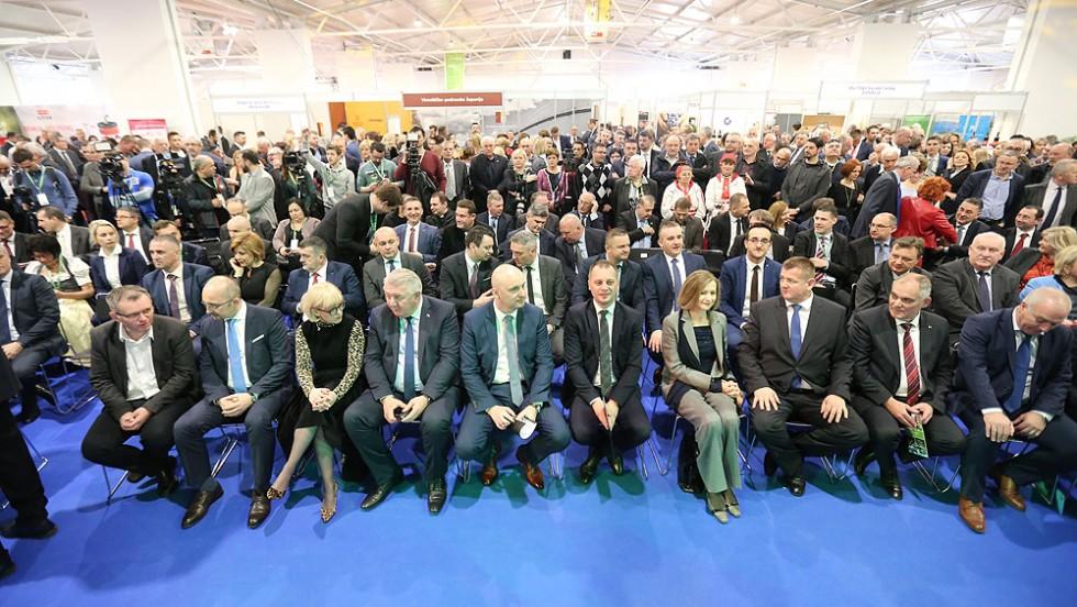 Potpredsjednik Vlade RH i ministar poljoprivrede Tomislav Tolušić otvorio je Viroexpo 2019, na kojem se ove godine predstavlja 625 izlagača iz 29 zemalja