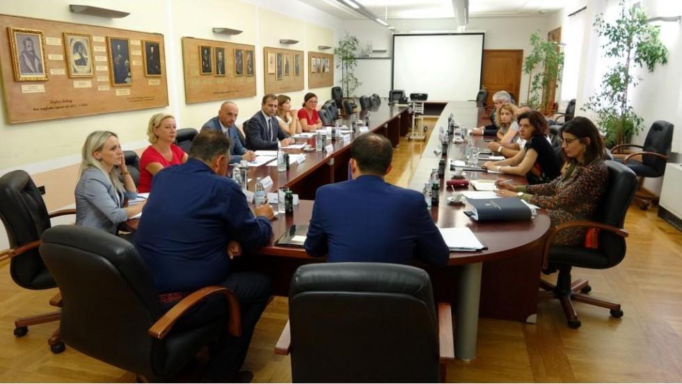 Varaždin: Radni sastanak na temu povjeravanja poslova državne uprave županijama