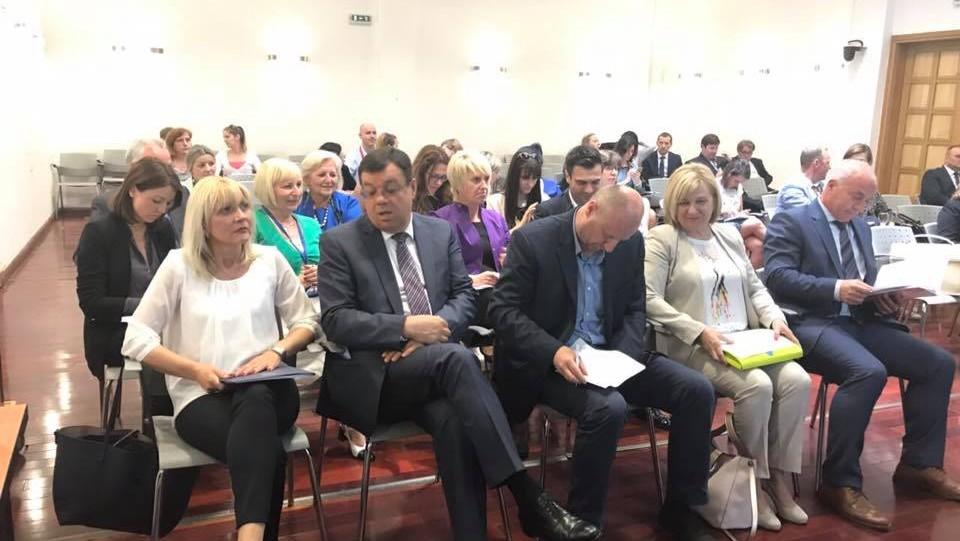 Radni sastanak ministrice Divjak s predstavnicima hrvatskih županija