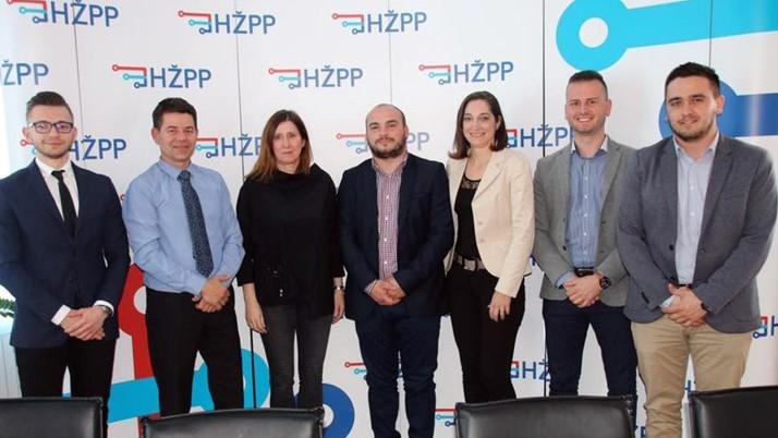Savjeti mladih slavonskih županija na sastanku s HŽPP-om