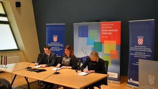Bespovratna EU sredstva u vrijednosti od 182 milijuna kuna