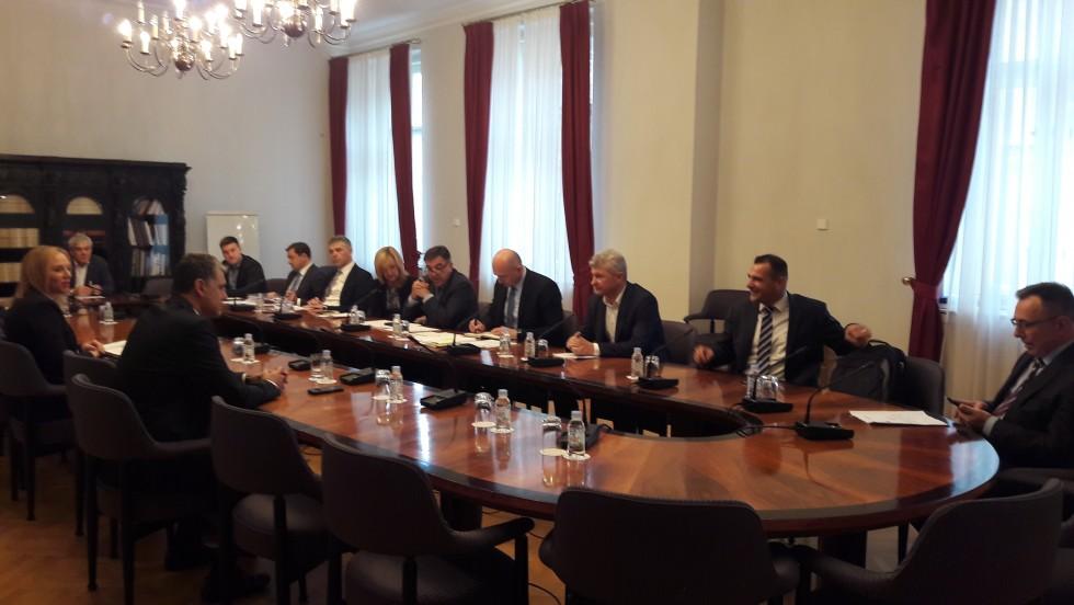 Predstavnici Zajednice na sjednici saborskog Odbora za lokalnu i područnu (regionalnu) samoupravu
