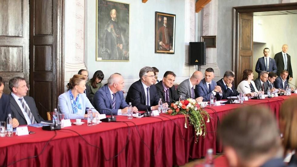 4. sastanak Vlade sa županima