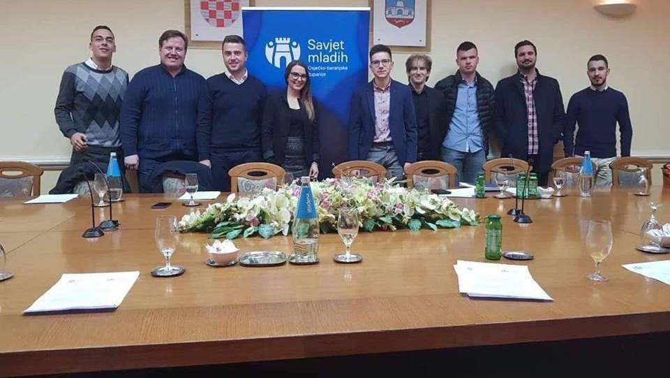Drugi zajednički sastanak Savjeta mladih Osječko-baranjske i Splitsko-dalmatinske županije