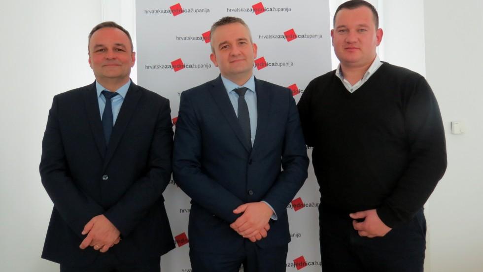 Ratimir Ljubić izabran za predsjednika Nadzornog odbora Hrvatske zajednice županija