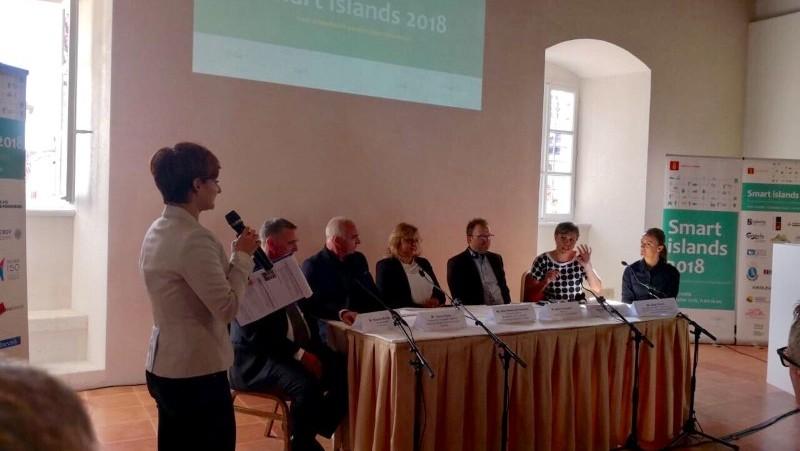 Župan Pauk sudjelovao je na konferenciji Smart islands 2018