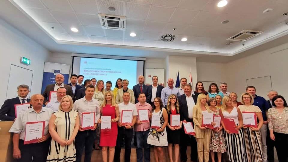 Dodjela priznanja najtransparentnijima: Županijama ponovno najbolje ocjene