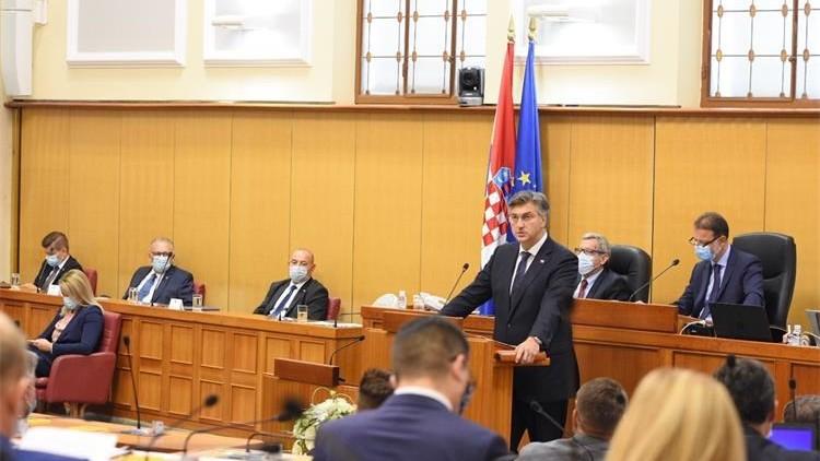 Sabor potvrdio povjerenje novoj Vladi koju će predvoditi Andrej Plenković