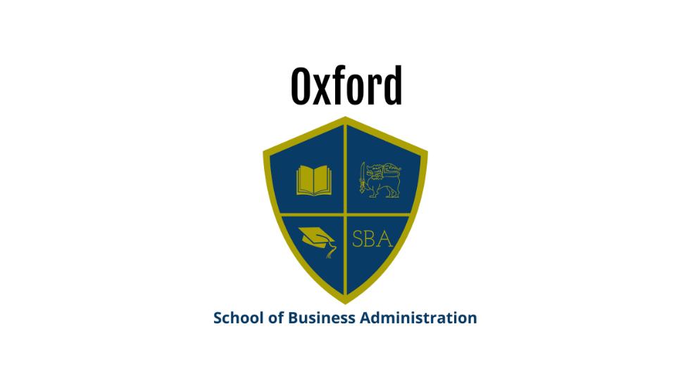 Oxford School of Business Administration Program u online video formatu za one najzaposlenije!