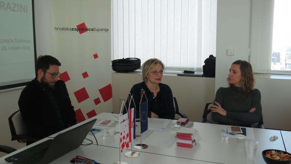 Održana sjednica Radne skupine za pravna pitanja Hrvatske zajednice županija