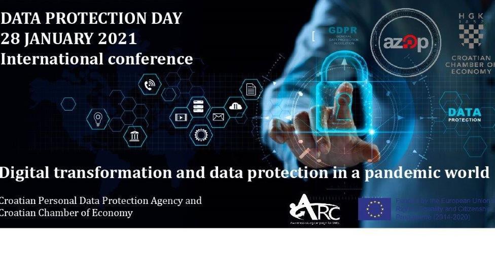 """Konferencija """"Digitalna transformacija i zaštita podataka u doba globalne pandemije"""""""