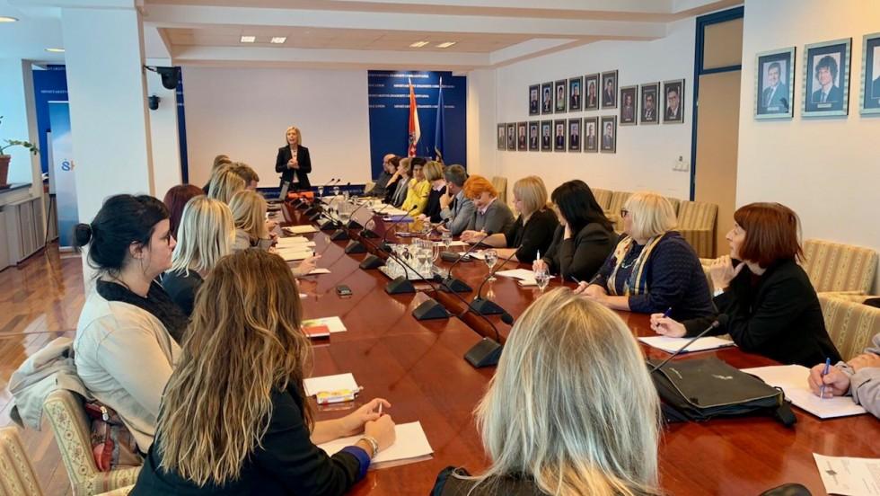 Radni sastanak u Ministarstvu znanosti i obrazovanja