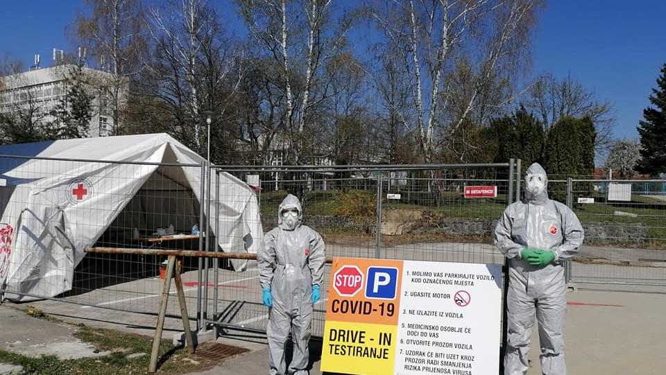 Karlovačka županija: Drive-in testiranje