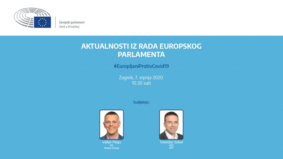 Najava plenarne sjednice Europskog parlamenta: Dugoročni proračun i oporavak EU-a, uz osvrt na prvu godinu rada u novom sazivu