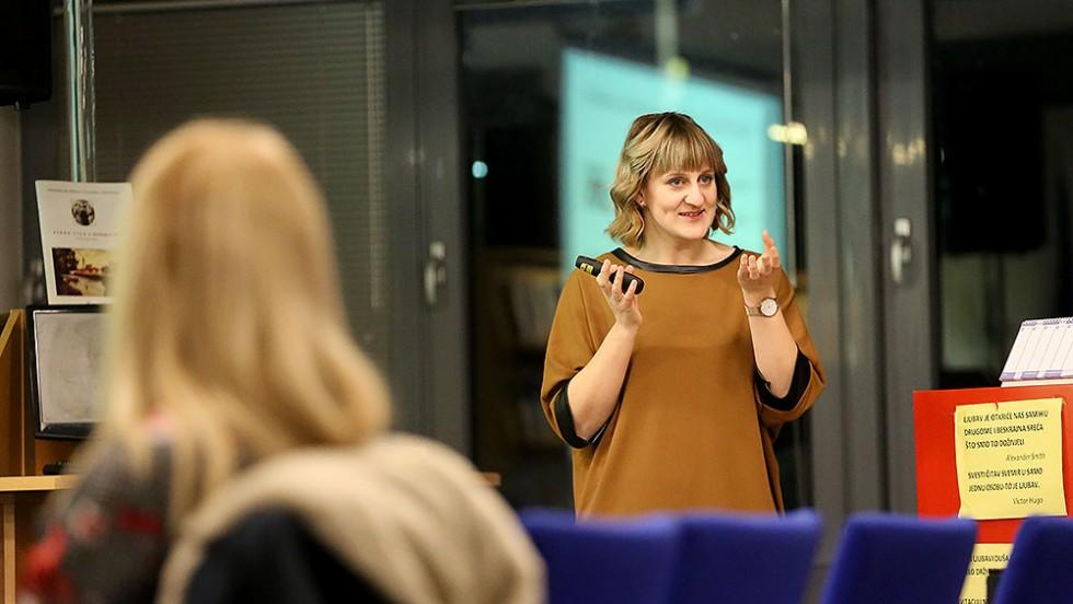 Održano predavanje za mlade  ''Kako se zauzeti za sebe''