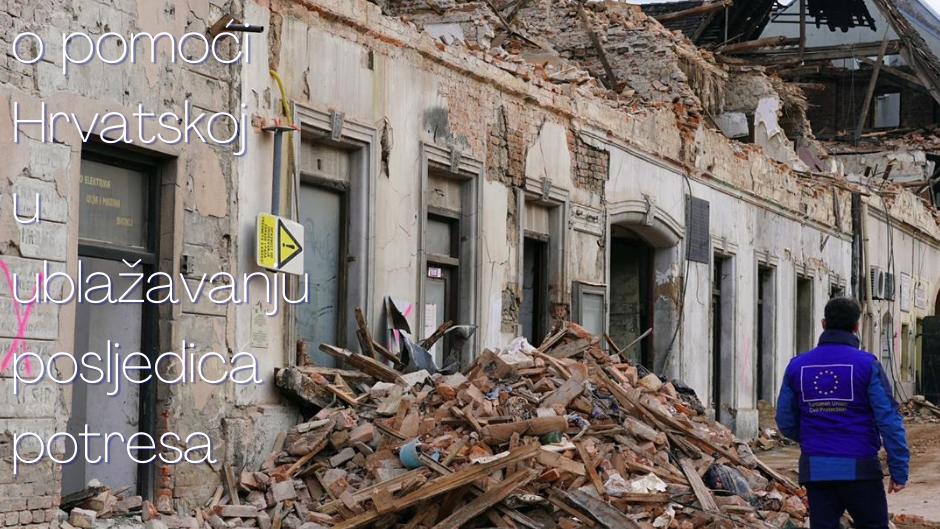 Europska pomoć Hrvatskoj nakon razornih potresa